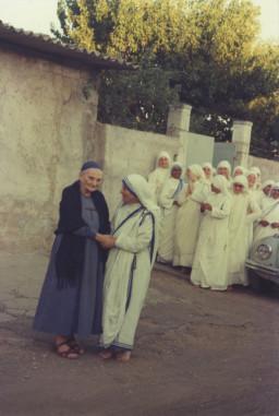 mała siostra Magdaleny Hurtin i św. Matka Teresa z Kalkuty
