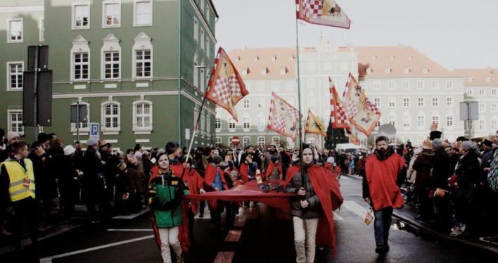 Szczeciński Orszak Trzech Króli 2018