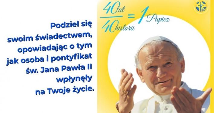 40 lat/40 historii = 1 Papież