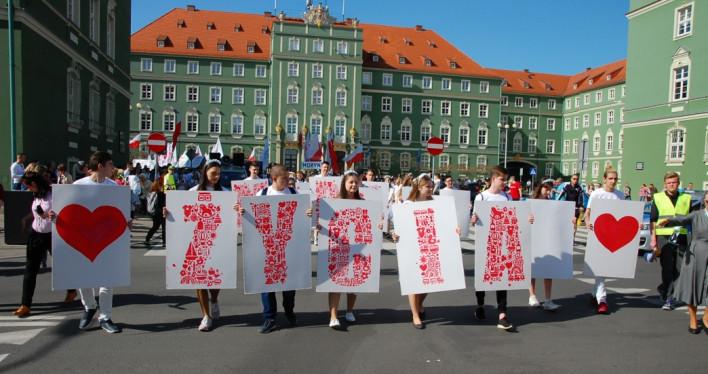 XVI Szczeciński Marsz dla Życia 2018