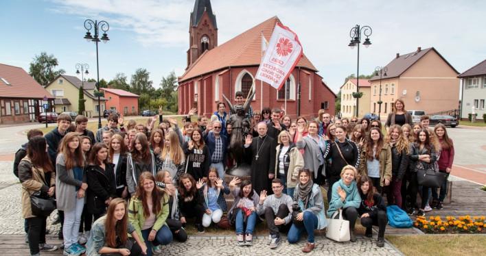 Ewangelizacyjny Katechizm Młodych z tematami związanymi z naszą Archidiecezją