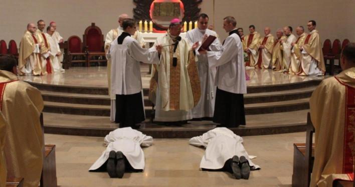 Święcenia diakonatu i kapłańskie w szczecińskim seminarium