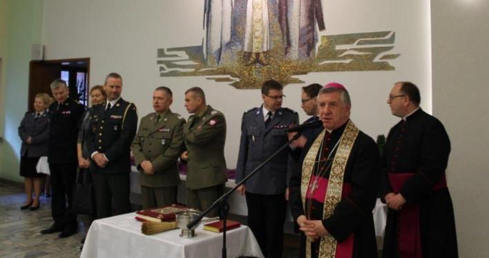 Spotkanie opłatkowe służb mundurowych Szczecina i województwa