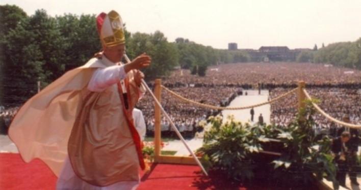 św. Jan Paweł II w Szczecinie - 30. rocznica - uroczystości w katedrze