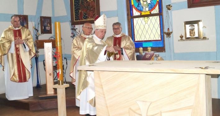 Poświęcenie kościoła w Niemicy