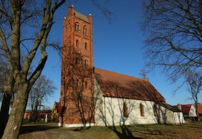 Bielice k. Pyrzyc Kościół parafialny pw MB Królowej Polski