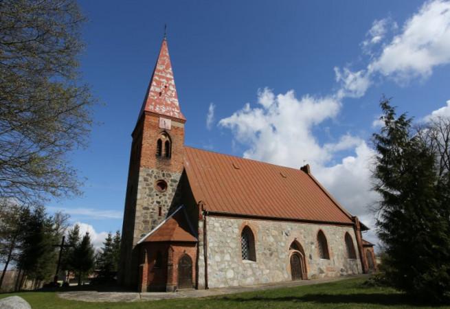 Długie Kościół parafialny pw św. Anny