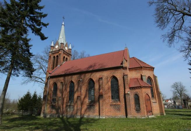 Bienice Kościół filialny pw Podwyższenia Krzyża Świętego