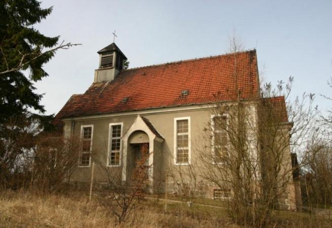 Godków osiedle Kościół filialny