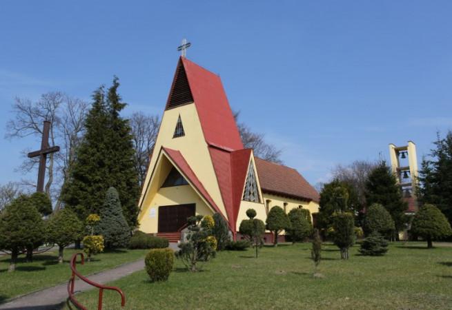 Ińsko Kościół parafialny pw św. Józefa Oblub. NMP