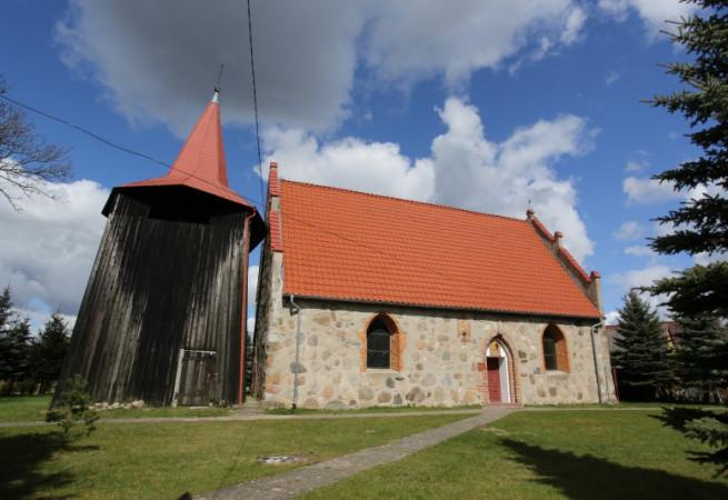 Kania Kościół parafialny pw św. Stanisława Kostki