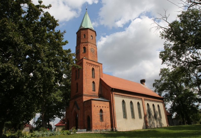 Granowo Kościół filialny pw Najśw.Serca Pana Jezusa