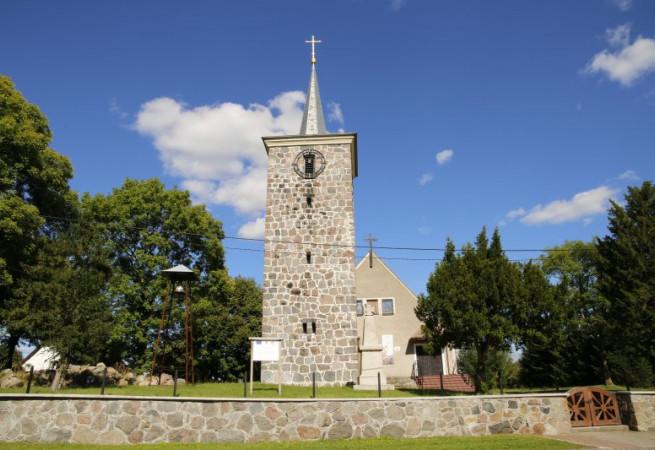 Wiechowo Kościół filialny pw Miłosierdzia Bożego