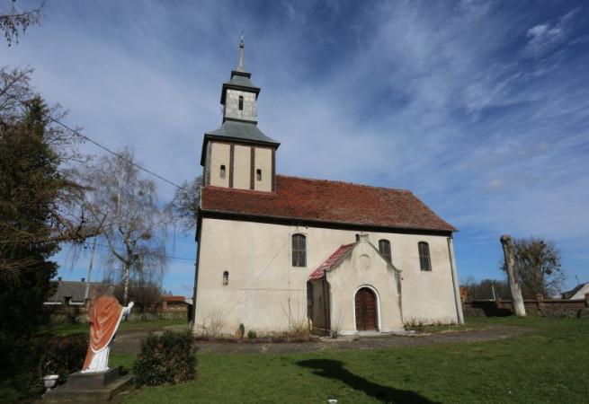 Wierzchlas Kościół filialny pw MB Częstochowskiej
