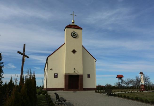 Mieszkowice Kościół filialny pw Ducha Świętego