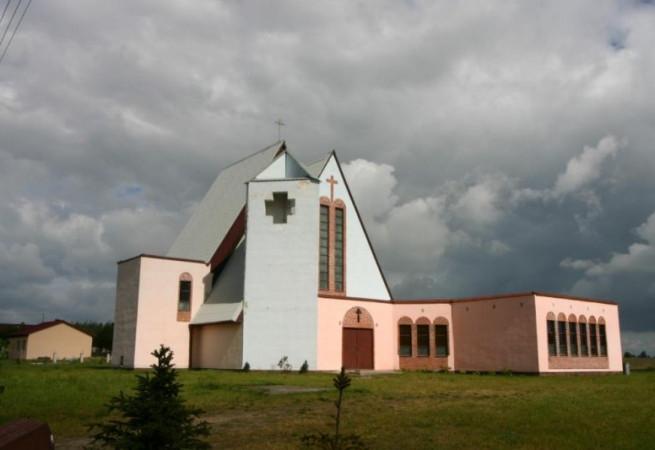 Czarnogłowy Kościół filialny