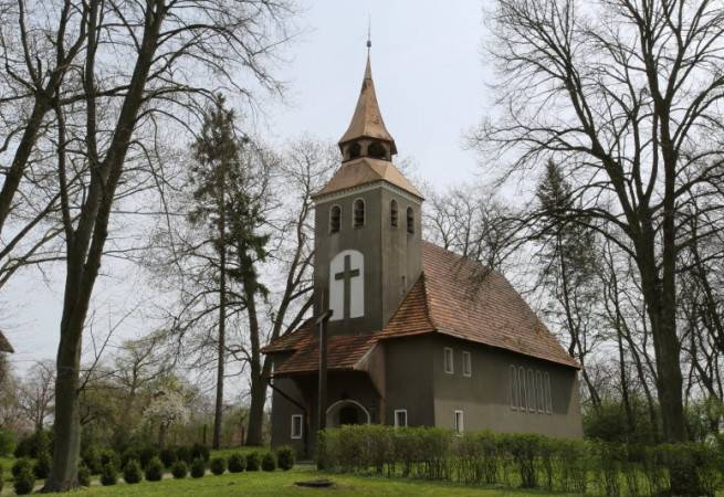 Strąpie Kościół filialny pw MB Różańcowej
