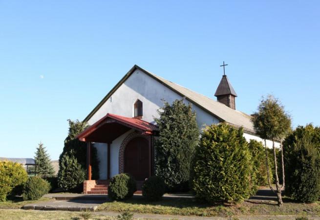 Wierzbówek Kościół filialny pw św. Franciszka z Asyżu