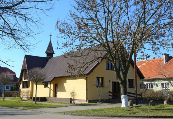 Stróżewo Kościół filialny pw św.Maksymiliana Marii Kolbego