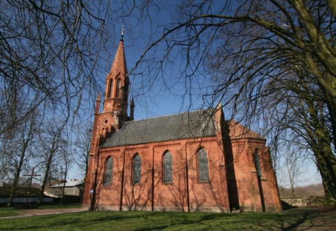 Warchlinko Kościół filialny pw Chrystusa Króla