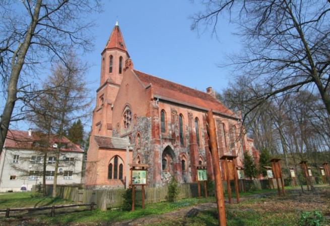 Głusko Kościół filialny pw MB Częstochowskiej