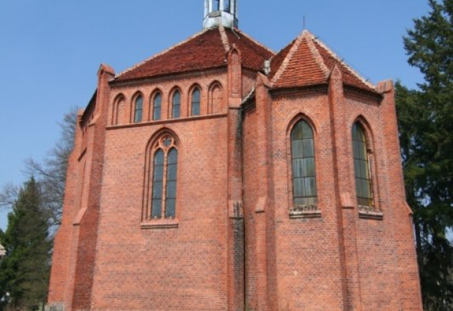 Osieczno Kościół filialny
