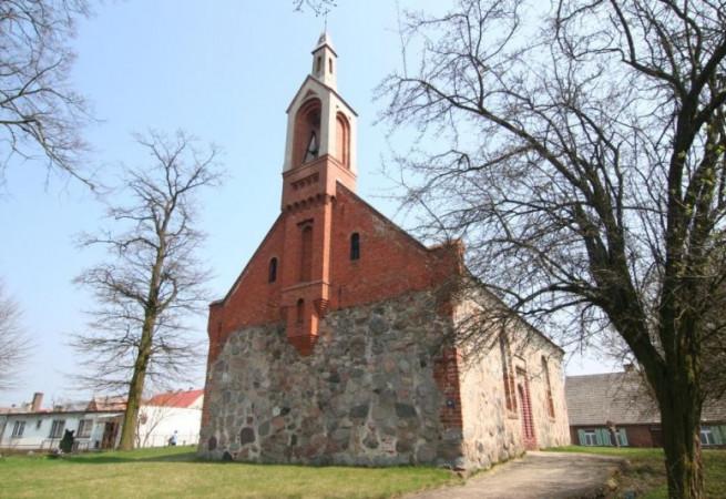 Słowin Kościół filialny pw Wniebowzięcia NMP