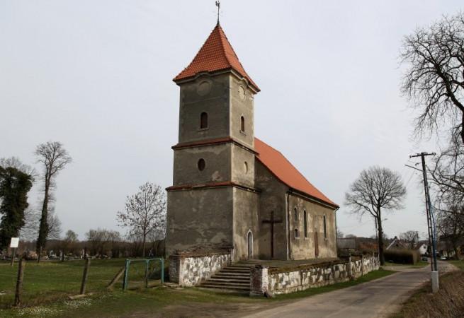 Rościn Kościół filialny pw św.Rocha