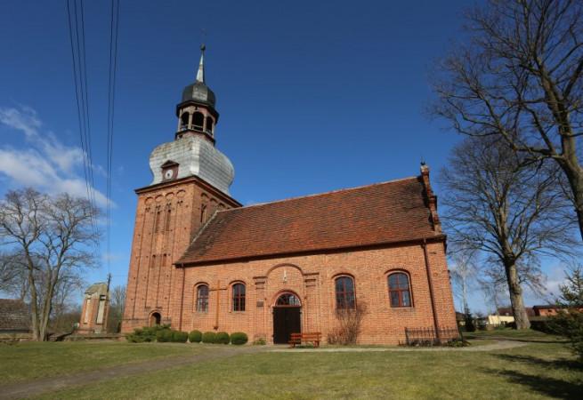Zaborsko Kościół filialny pw św. Jana Chrzciciela