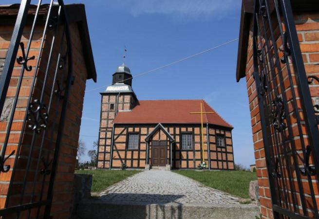 Ginawa Kościół filialny pw św.Anny