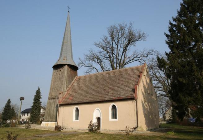 Węgorza Kościół filialny pw św. Jana Chrzciciela