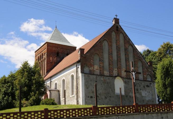 Suliszewo Kościół parafialny pw Świętej Trójcy
