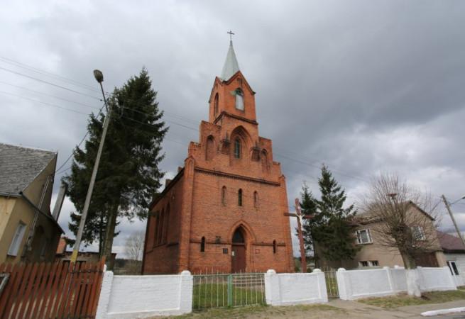 Żeliszewo Kościół filialny pw Narodzenia NMP