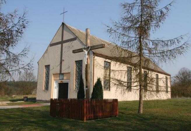 Łysogórki Stare Kościół filialny pw Chrystusa Dobrego Pasterza