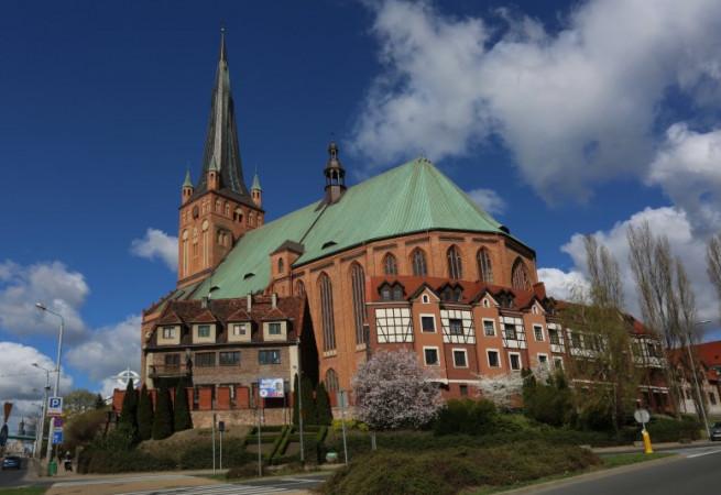 Szczecin Kościół parafialny pw św. Jakuba Ap.
