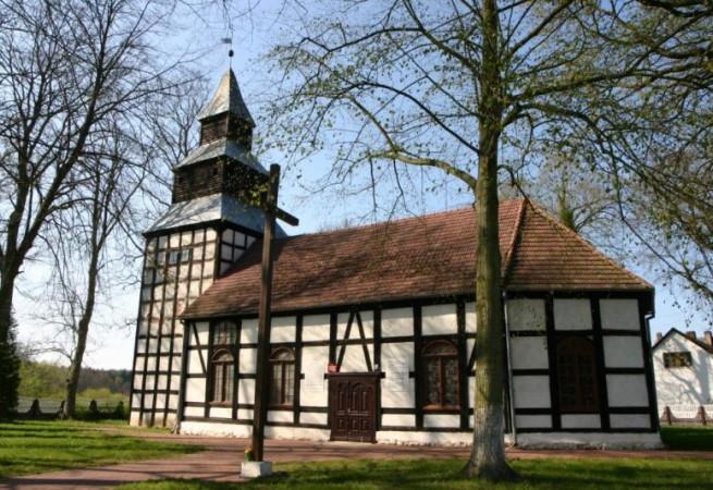 Łożnica Kościół filialny pw NMP Królowej Polski