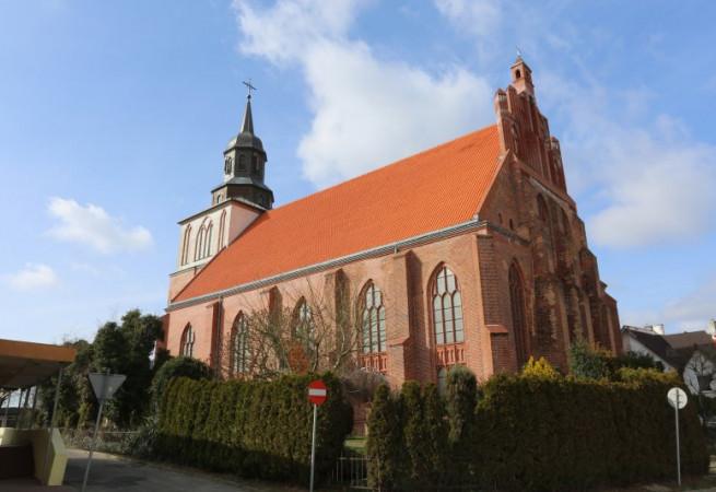 Wolin Kościół parafialny pw św. Mikołaja Bp