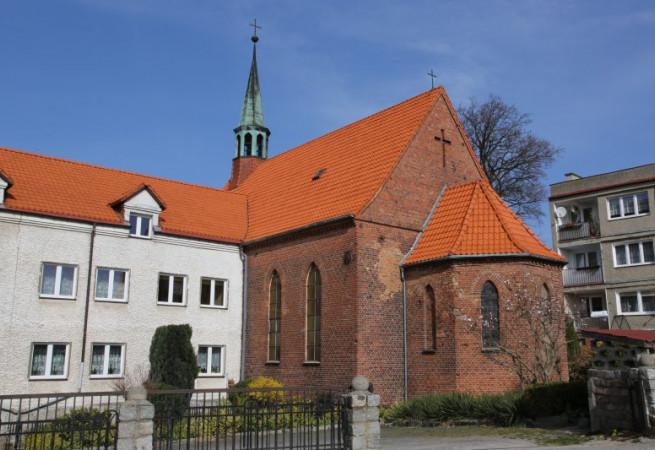 Wolin Kościół filialny pw św. Stanisława BM