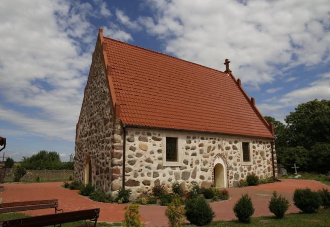 Strzebielewo Kościół filialny pw św. Józefa Rzemieślnika