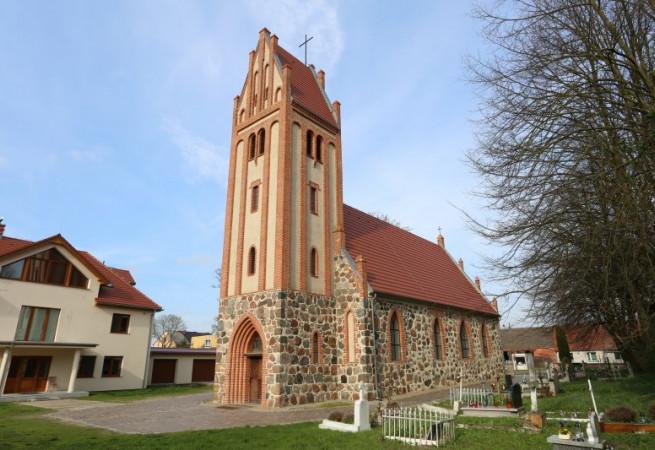 Żabów Kościół parafialny pw św. Jana Chrzciciela